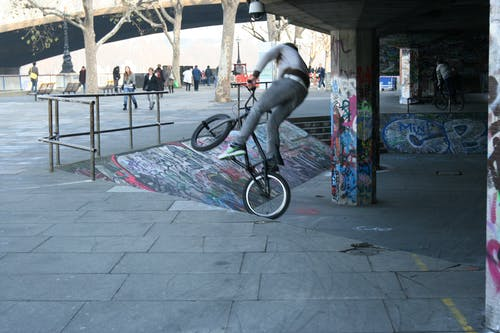 Free stock photo of bicycle, bmx, entertainment, excercise