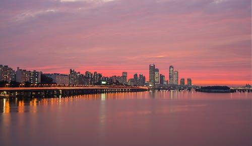 Free stock photo of asia, han river, korea, night