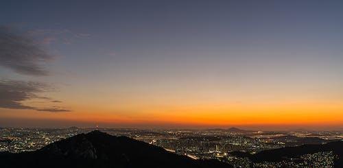 Безкоштовне стокове фото на тему «Азія, жовтий, Захід сонця, Корея»