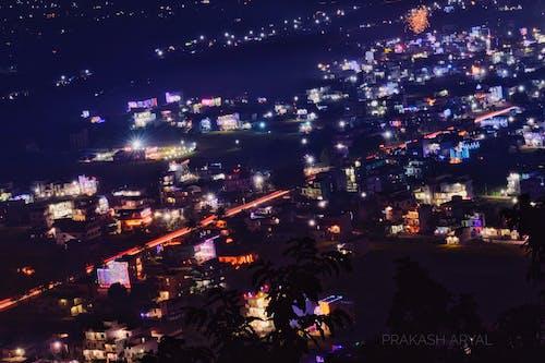 Free stock photo of city, deepawali, highway