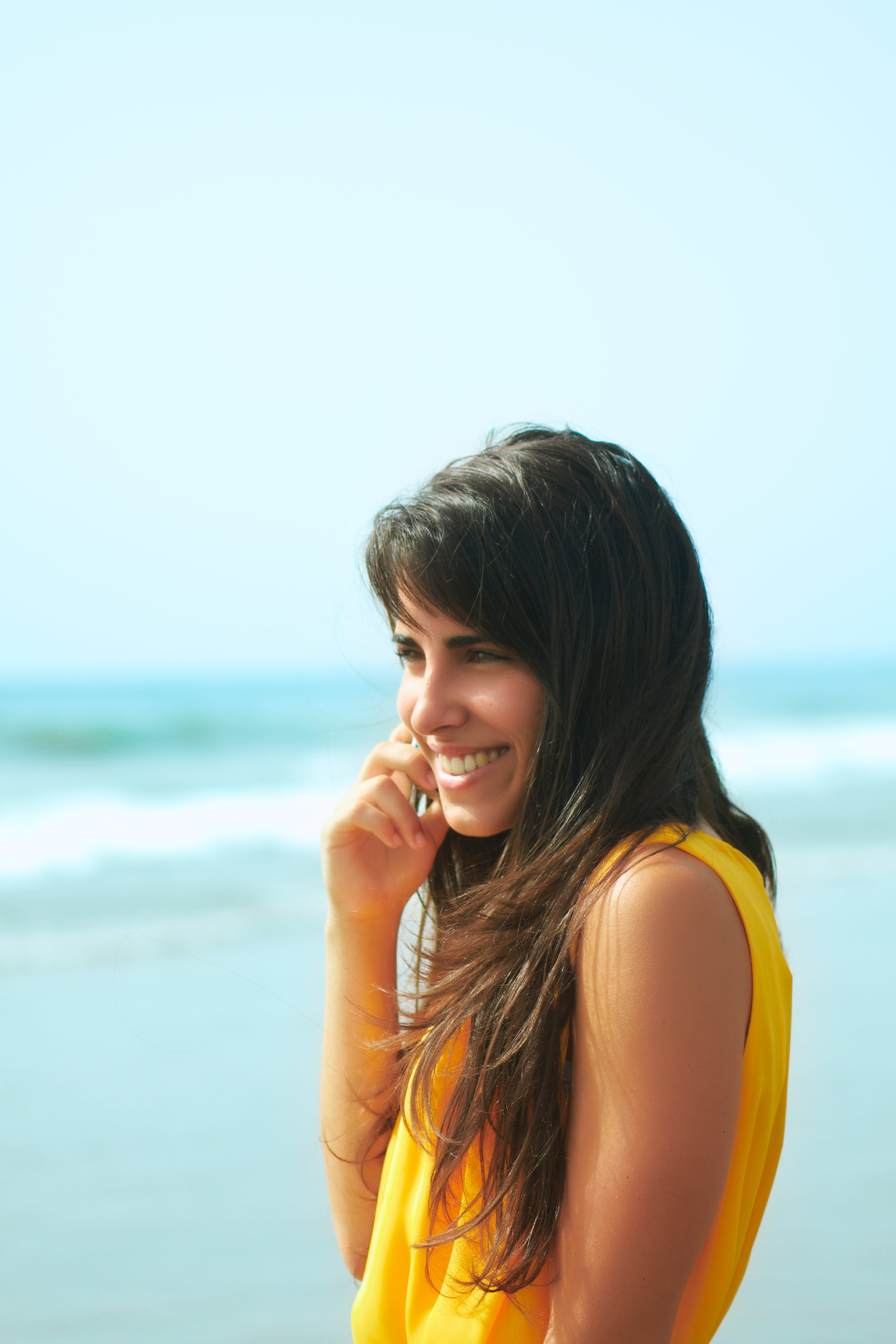Free stock photo of 20s, adult, beach, beautiful