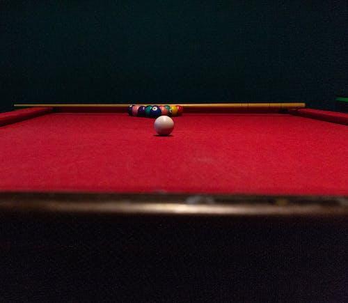 คลังภาพถ่ายฟรี ของ กีฬา, คิว, ลูกบอล, โต๊ะ