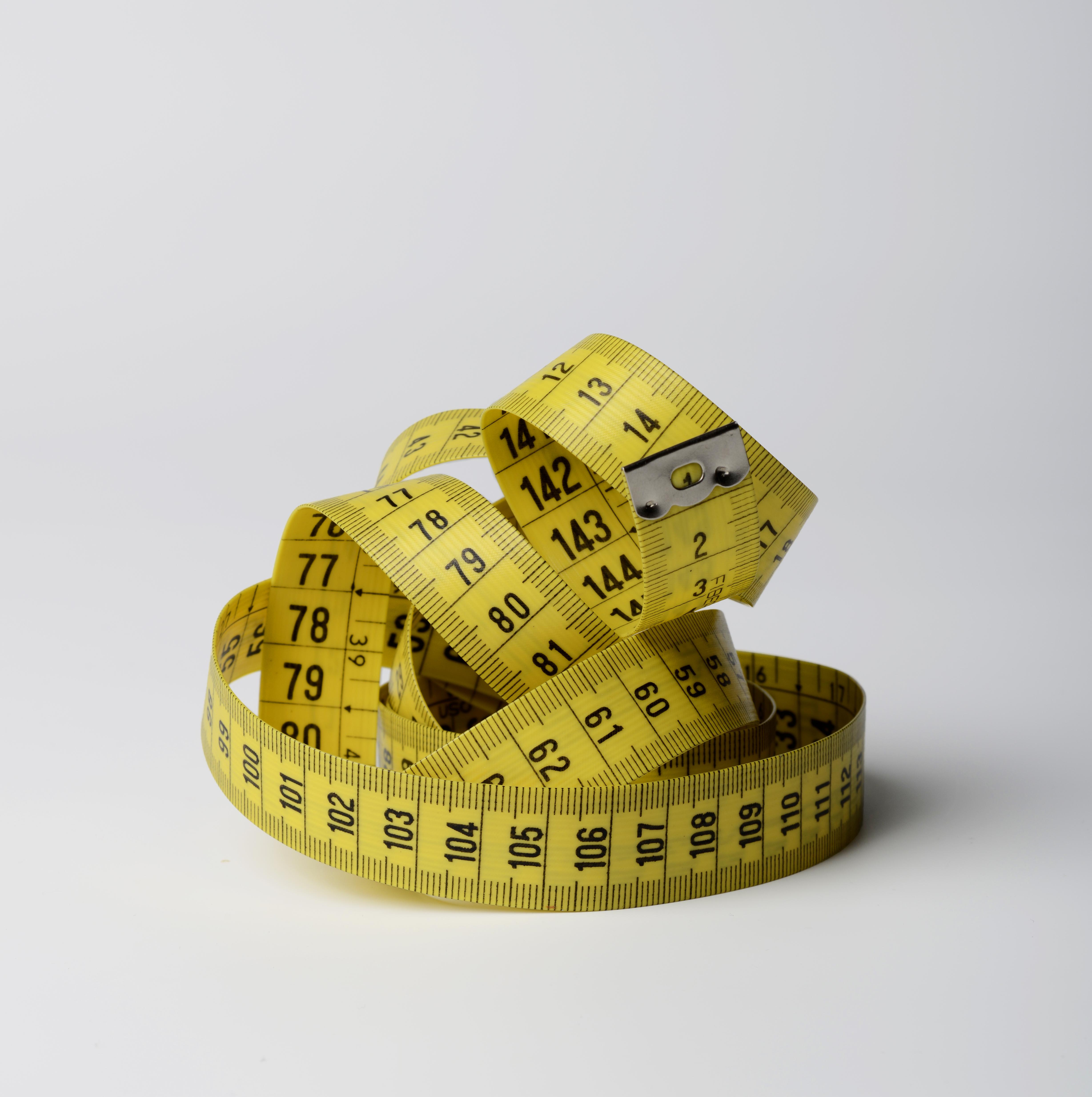 Measuring tape.