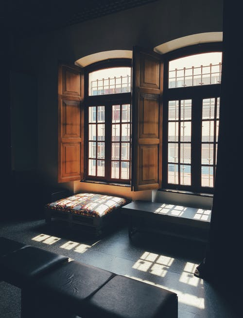 Couch Beside Window