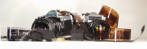Foto stok gratis film 35mm, foto, kamera, kamera analog