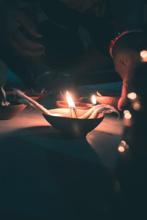 deepawali, 印度節日, 屠妖節快樂, 排燈節 的 免費圖庫相片