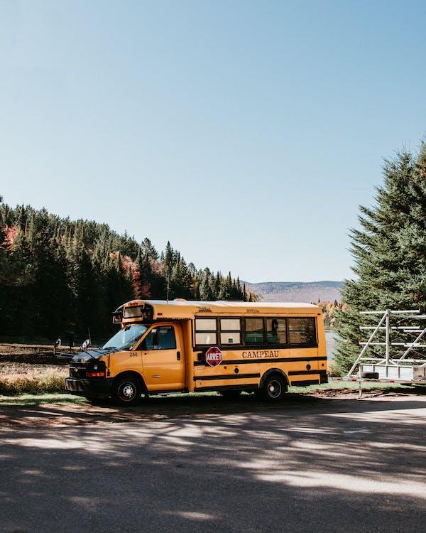 スクールバス, バス, 交通機関