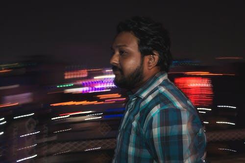 亞洲人, 光跡, 創意攝影, 城市的燈光 的 免費圖庫相片