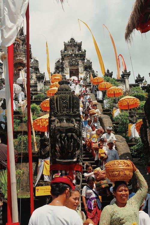 亞洲人, 人群, 傳統, 儀式 的 免费素材照片