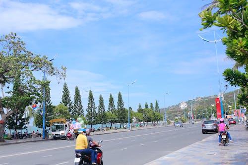 Бесплатное стоковое фото с приморская дорога