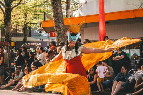 Free stock photo of carnival, celebration, costume, dancer