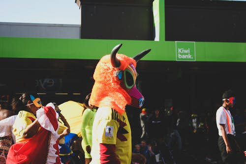 Free stock photo of carnival, celebration, costume, masked parade