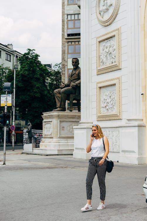 Δωρεάν στοκ φωτογραφιών με skopje, άγαλμα, άνθρωπος, αρχιτεκτονική