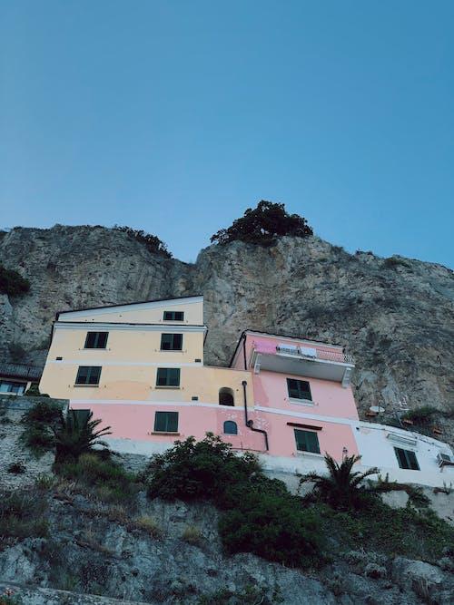 Ảnh lưu trữ miễn phí về amalfi, bầu trời tươi đẹp, bờ biển Amalfi, bờ biển ý