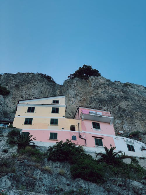 Free stock photo of amalfi, amalfi coast, beautiful sky, cliffside