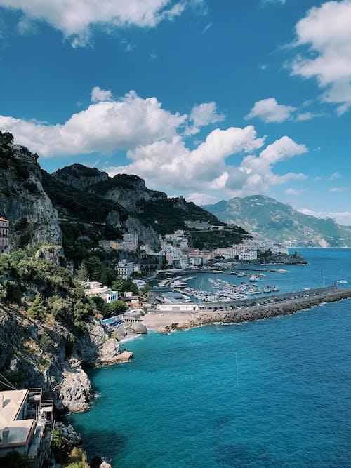 Бесплатное стоковое фото с берег моря, берег океана, геологический, геологическое образование