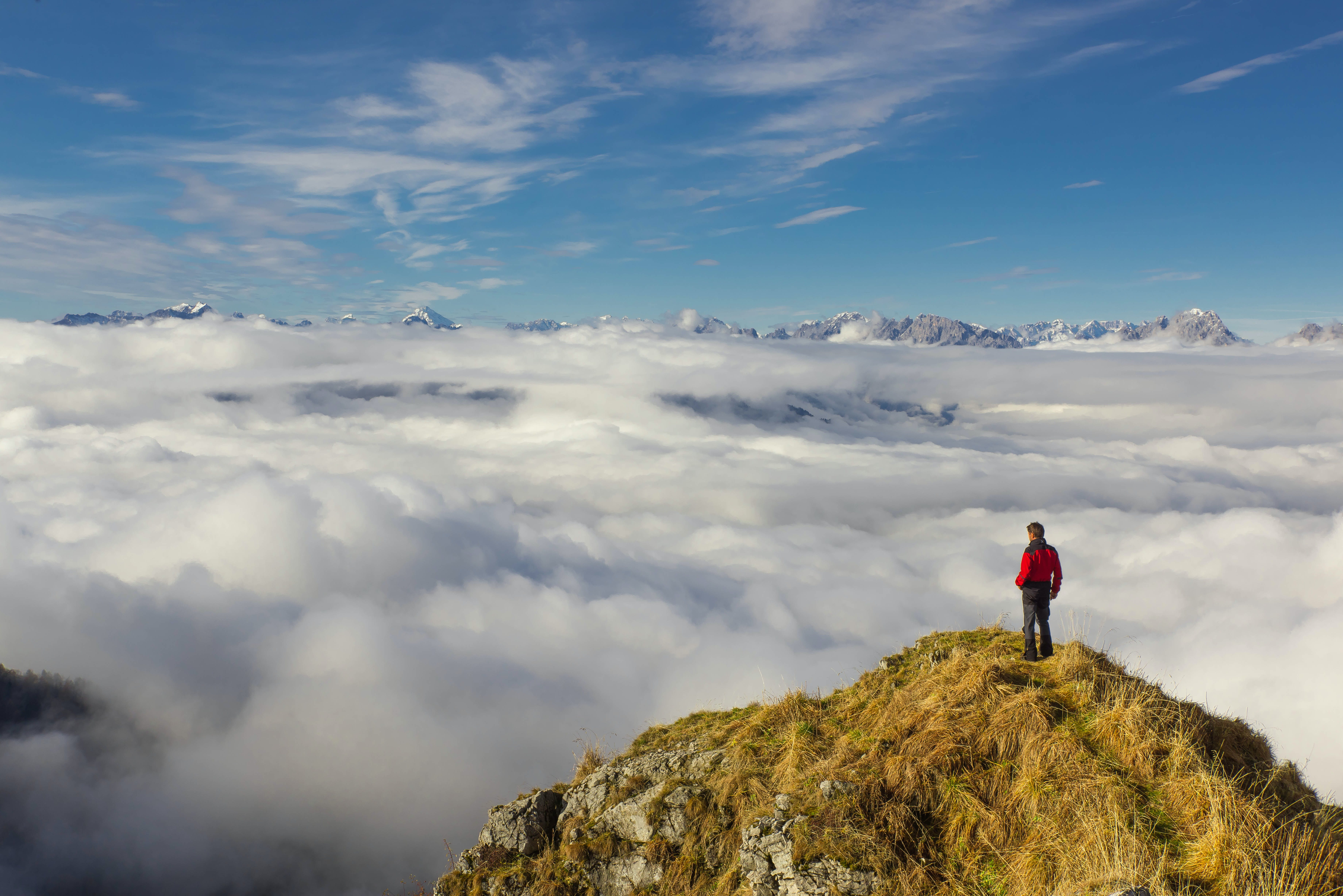 abenteuer, alpen, berg