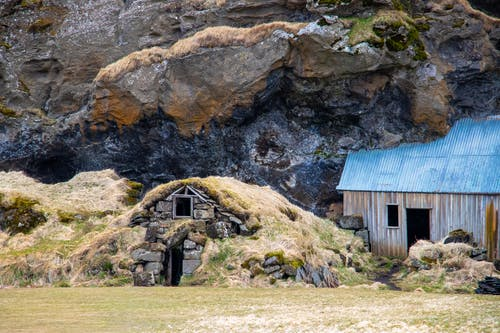 Ingyenes stockfotó hegyi sziklák, Izland, kuettel gabriel, kunyhó témában