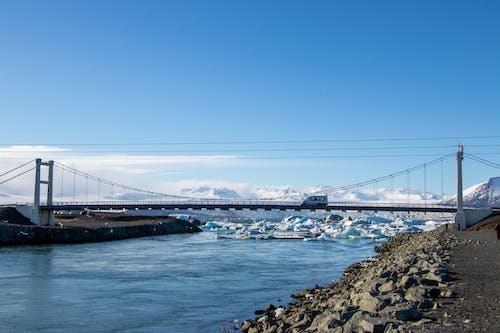 Ingyenes stockfotó gleccserek, híd, Izland, kuettel gabriel témában