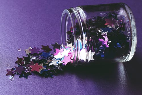 A Jar of Star Decors
