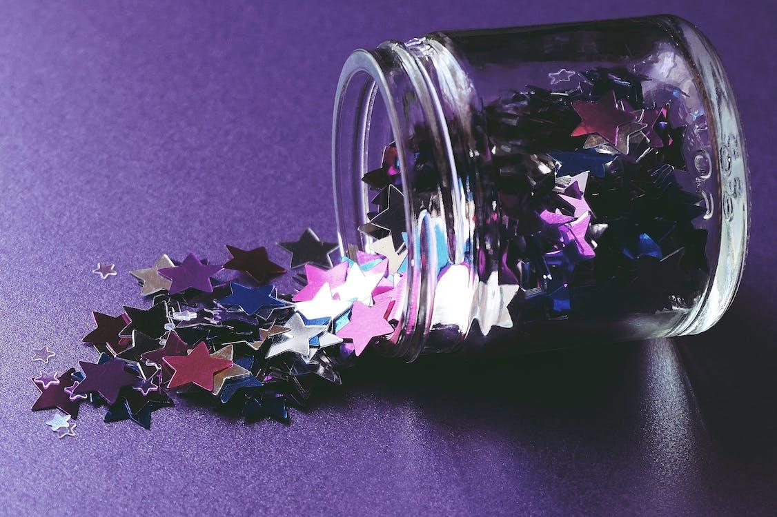 A Jar of Star Decors