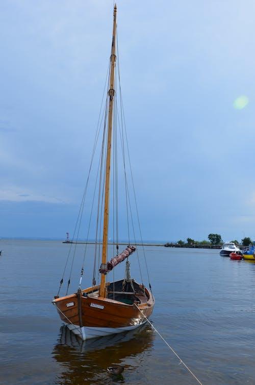Základová fotografie zdarma na téma jachta, moře, obloha, plachetnice