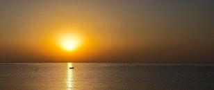 light, sea, landscape
