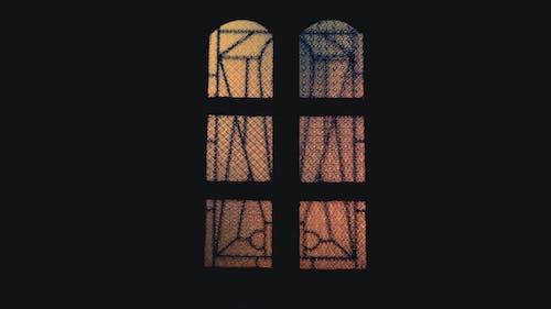 令人不寒而慄的, 可怕, 大教堂, 教堂的窗戶 的 免费素材照片