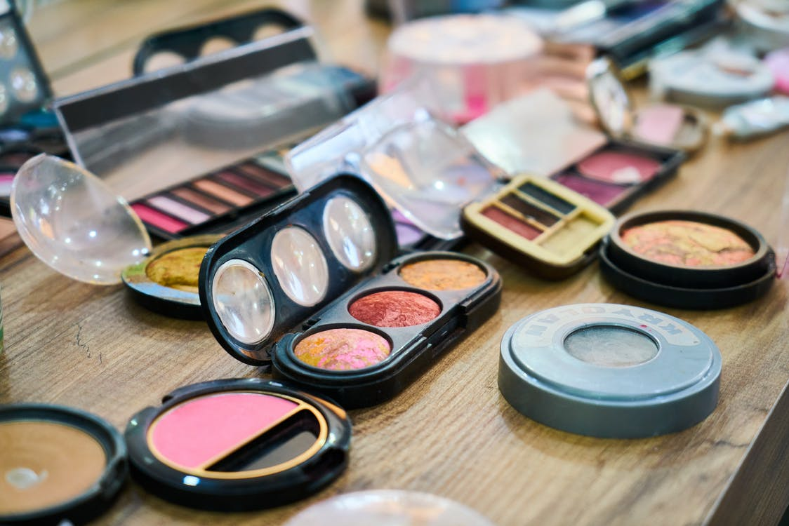 Variety of Makeup Products