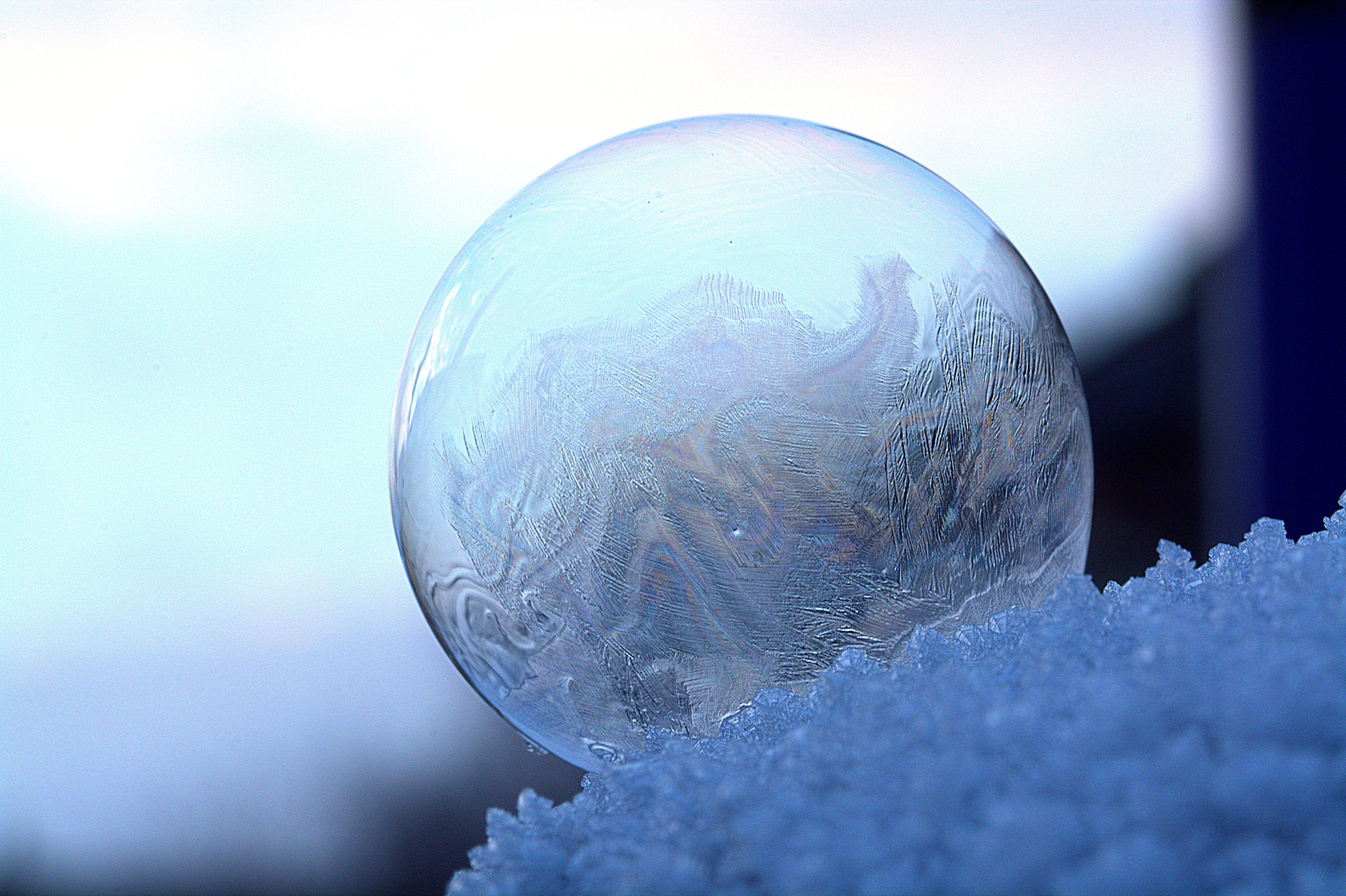 clear glass sphere 183 free stock photo