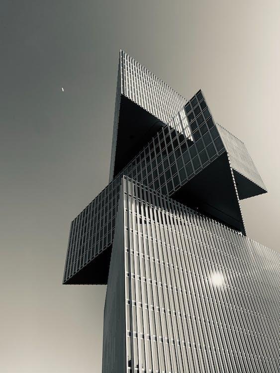 angle baix, arquitectònic, arquitectura