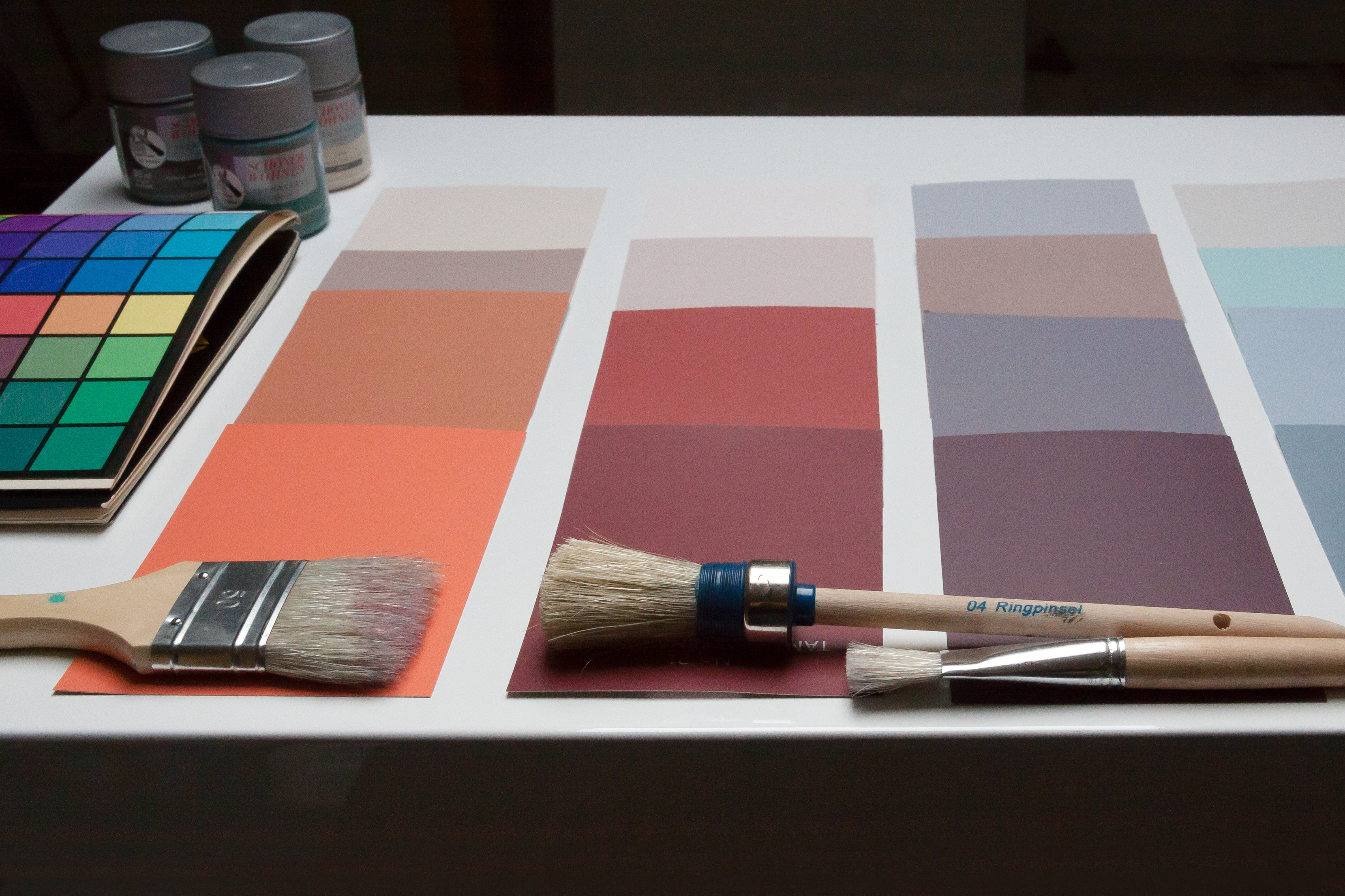 Free stock photo of design, color, decision, painter