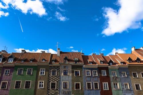Foto d'estoc gratuïta de arquitectura, barri antic, cel, poznan