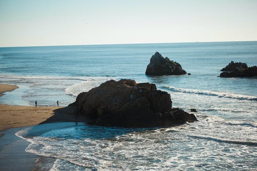 Základová fotografie zdarma na téma kameny, mávání, oceán, ostrovy