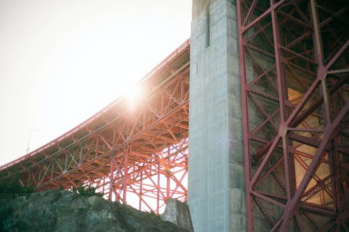 Základová fotografie zdarma na téma architektura, Kalifornie, most, most Golden Gate