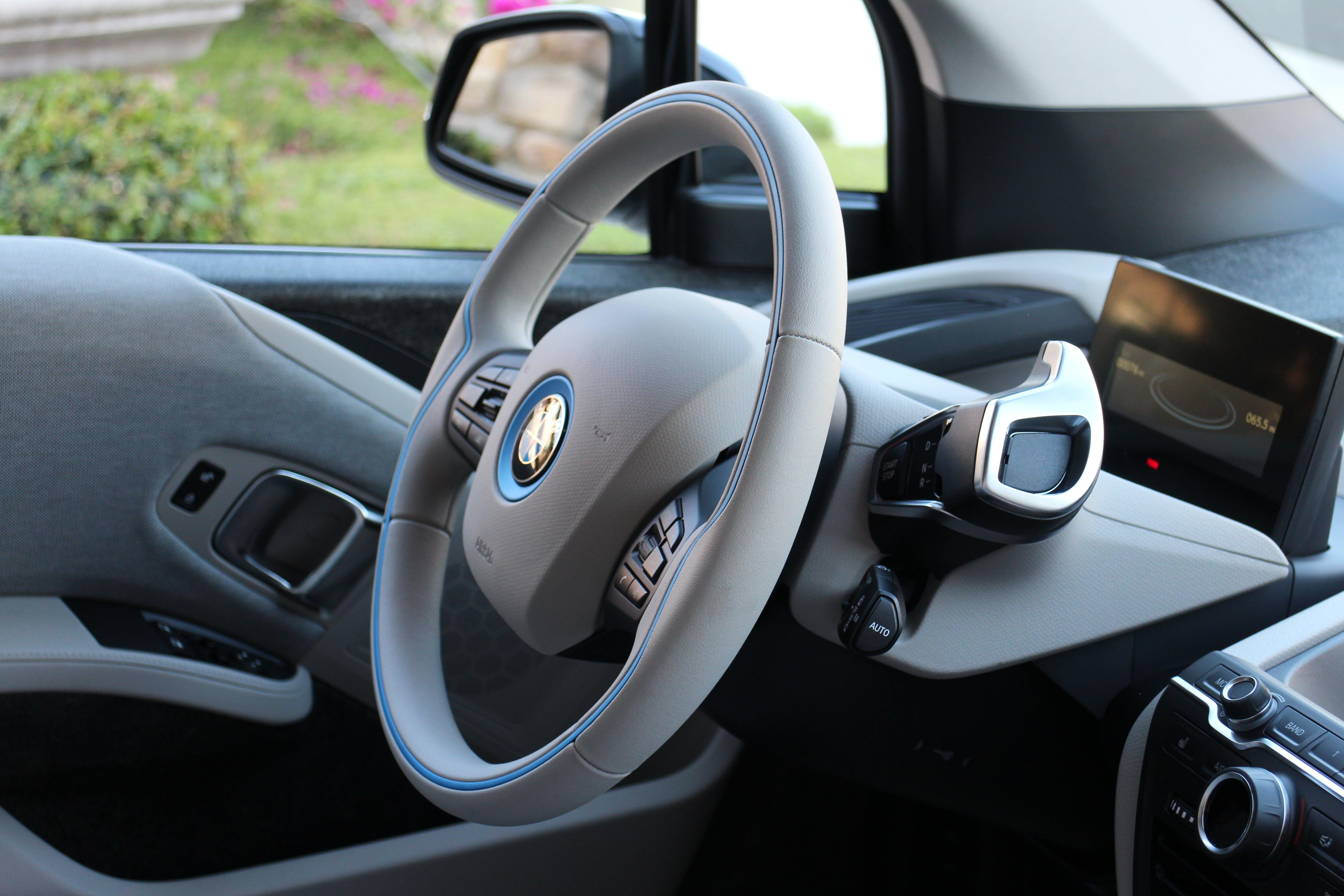 Free stock photo of car, interior, sedan, electric