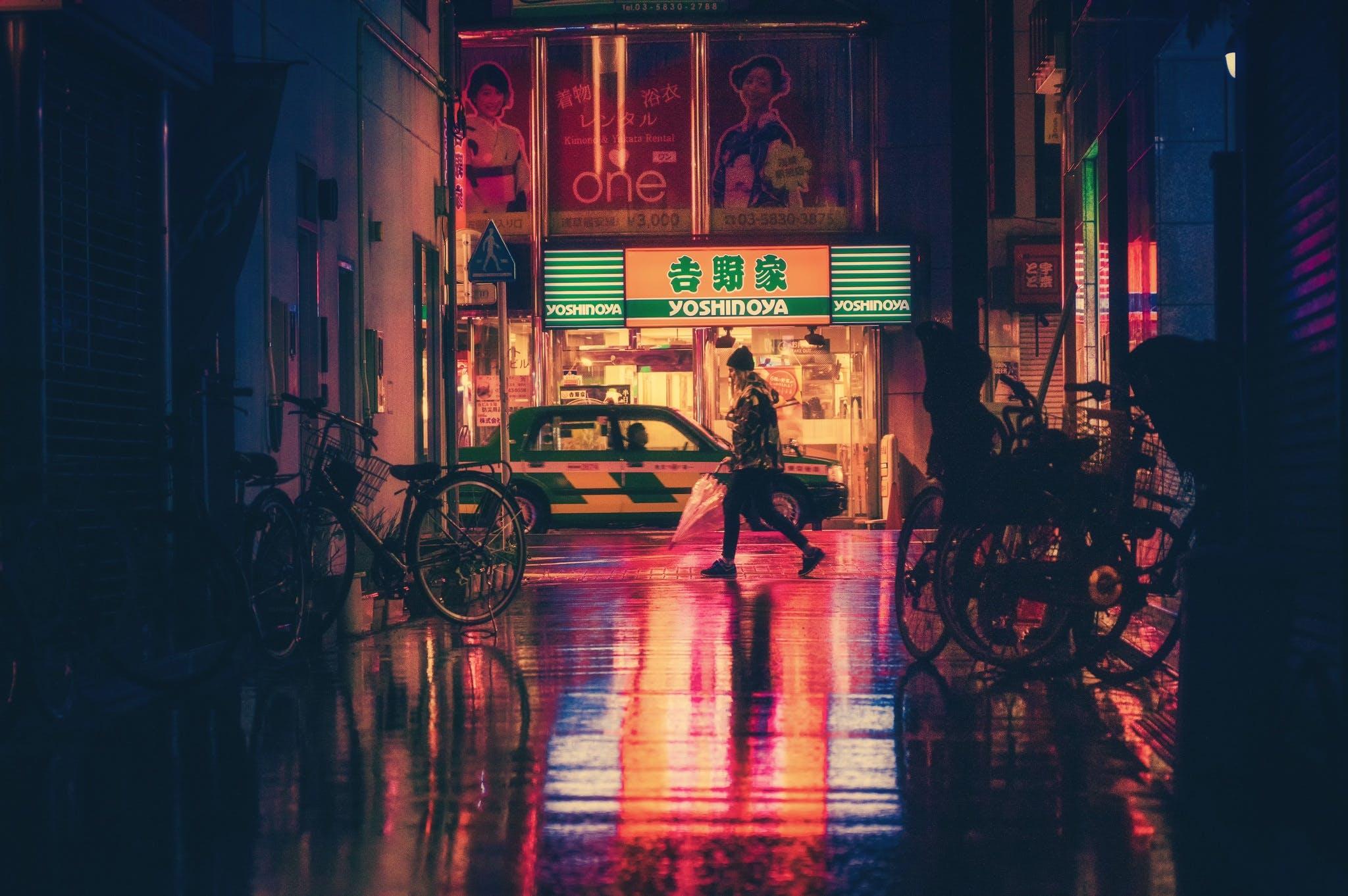 Kostenloses Stock Foto zu licht, stadt, straße, nacht