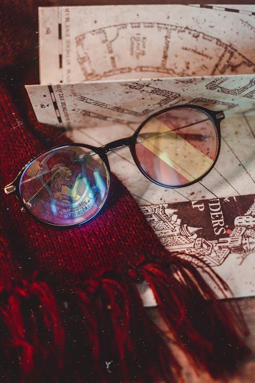 Gratis arkivbilde med allehelgensaften, bakgrunnsbilde, briller, film