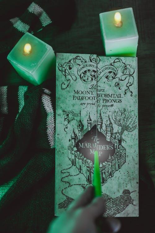 Kostenloses Stock Foto zu film, grün, halloween, harry potter