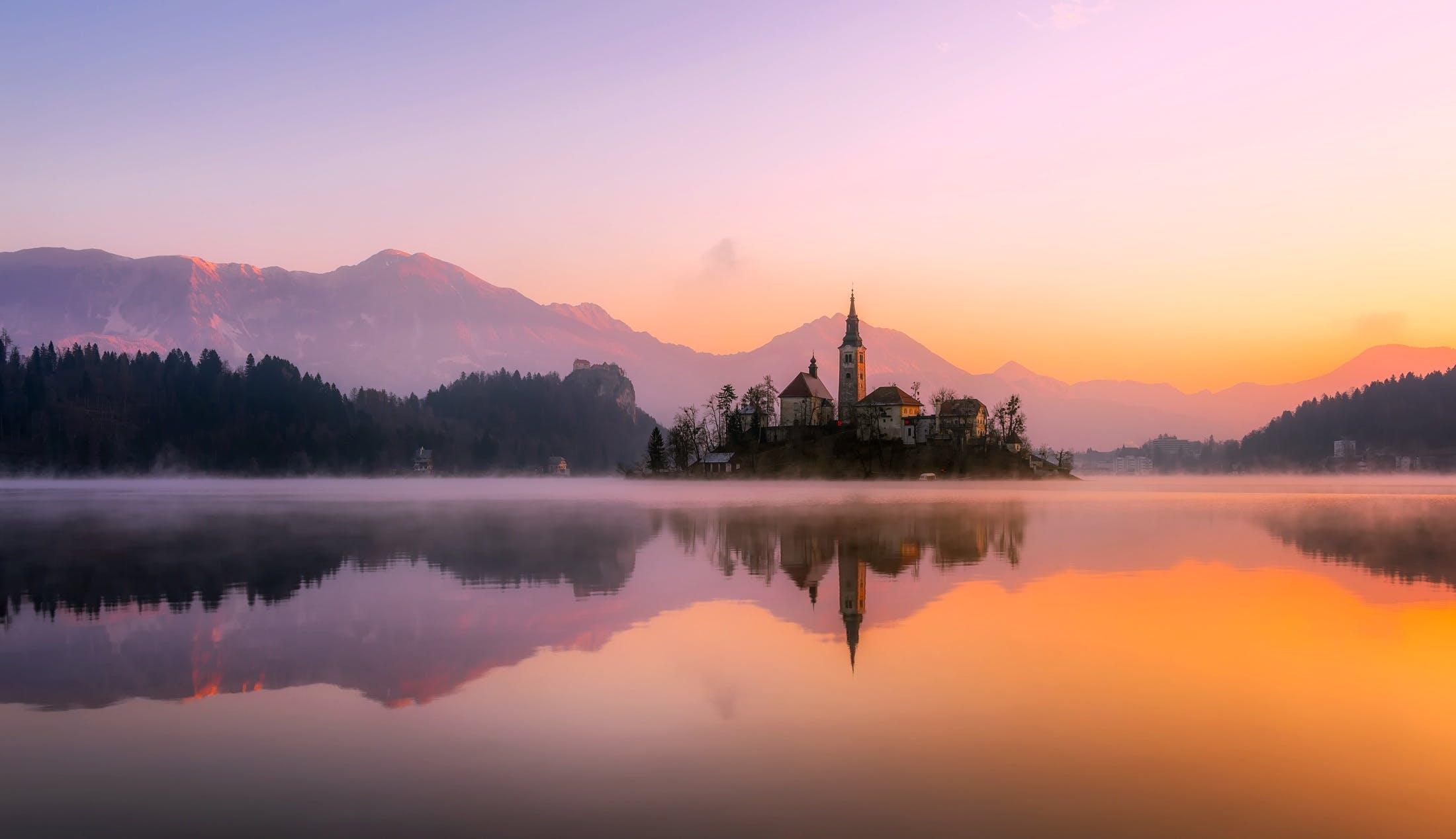 Free stock photo of dawn, mountains, nature, landmark