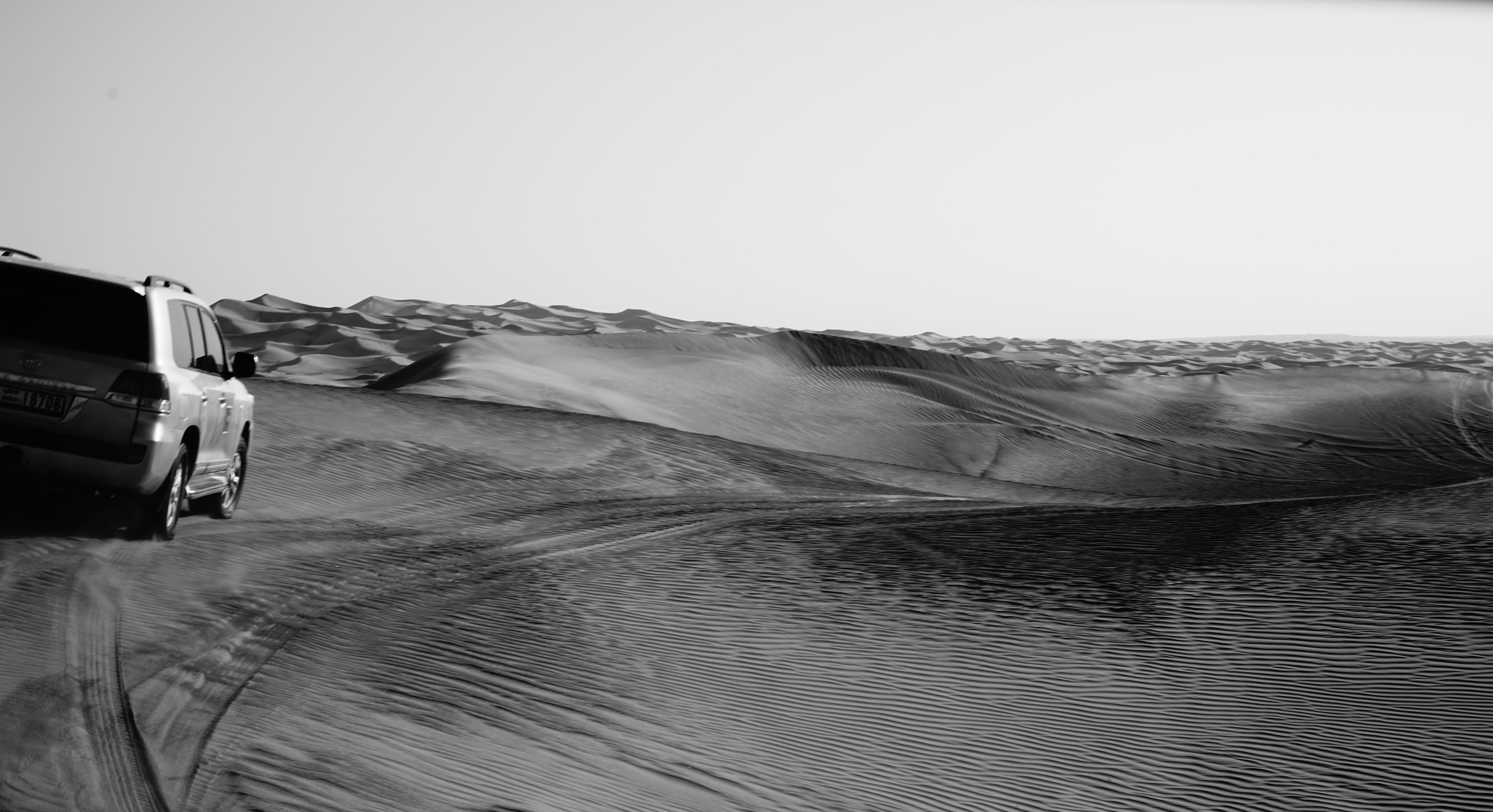 Free stock photo of driving in Dubai desert