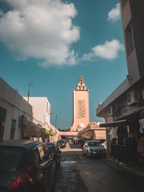 Foto d'estoc gratuïta de blau, gabes, gran mesquita, jara