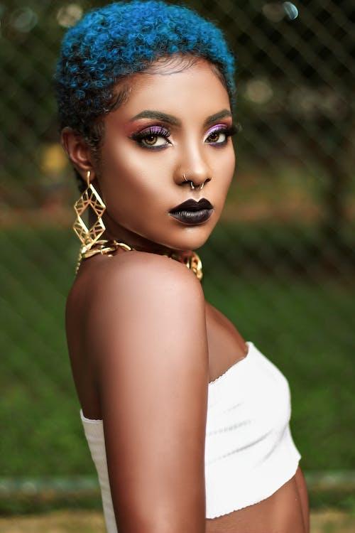 afroamerikkalaiset naiset, glamour, henkilö