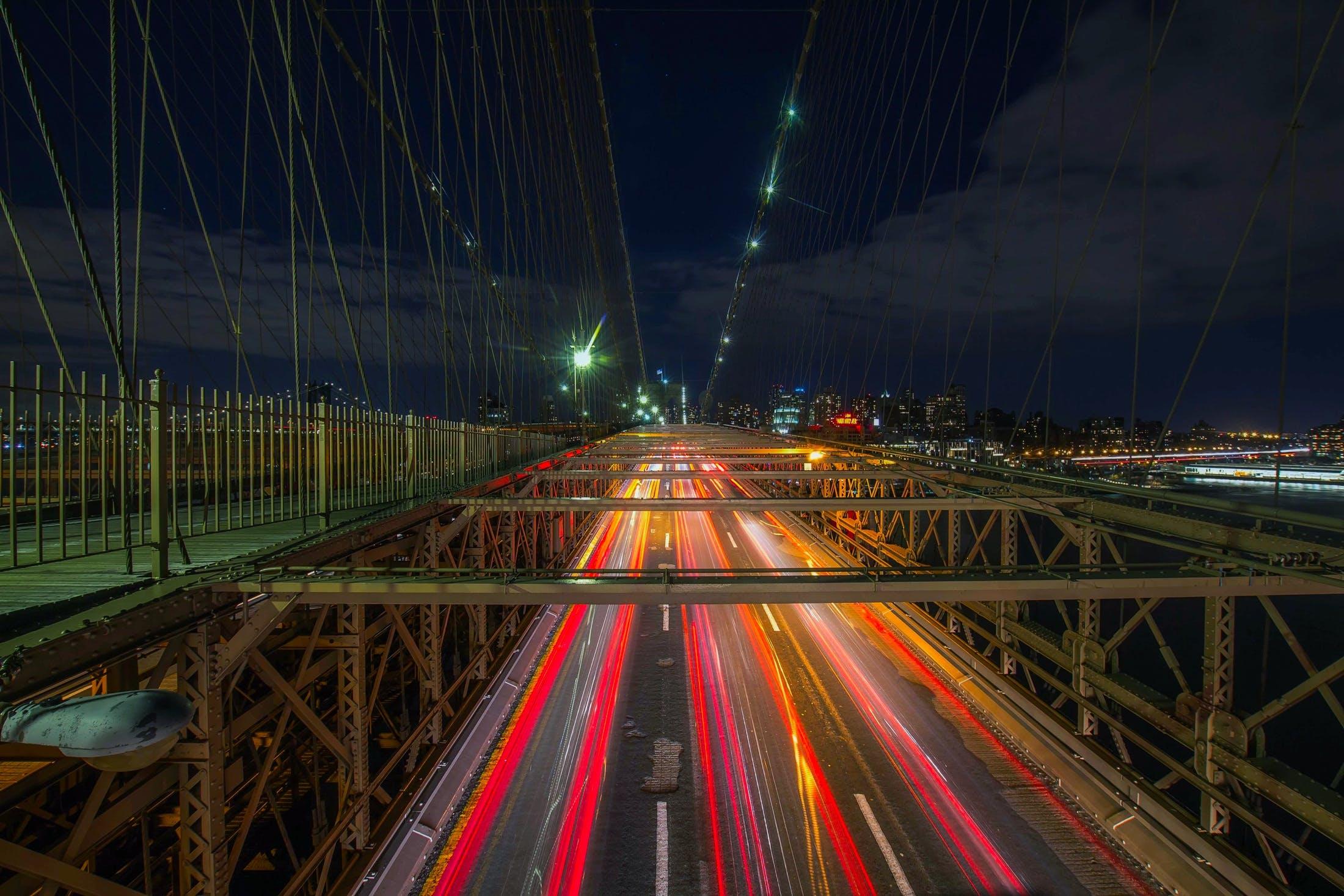 Безкоштовне стокове фото на тему «автострада, вечір, дорога, легкий»