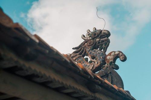 건축의, 궁전, 베트남, 블루의 무료 스톡 사진