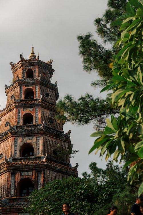 Gratis lagerfoto af buddhistisk tempel, bygning, pagode, tårn