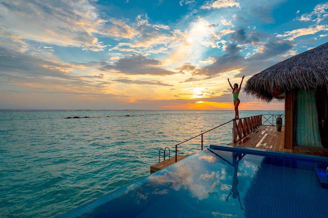 Infinity Pool Near Beach