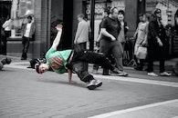 city, show, break dance