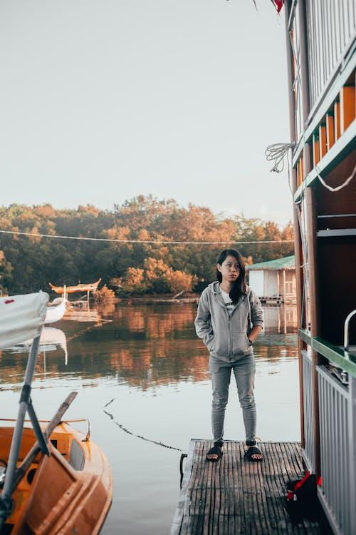#lady, Asyalı, Asyalı kadın, doğa içeren Ücretsiz stok fotoğraf