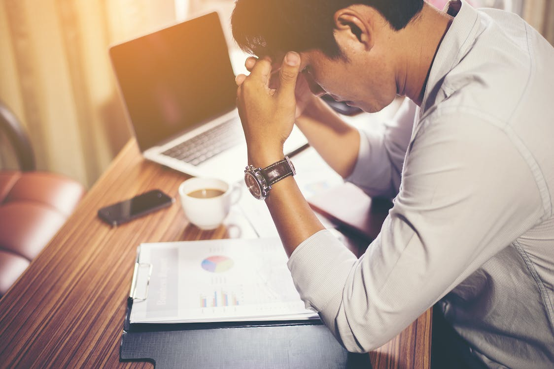 Free stock photo of accounts, stressed, work